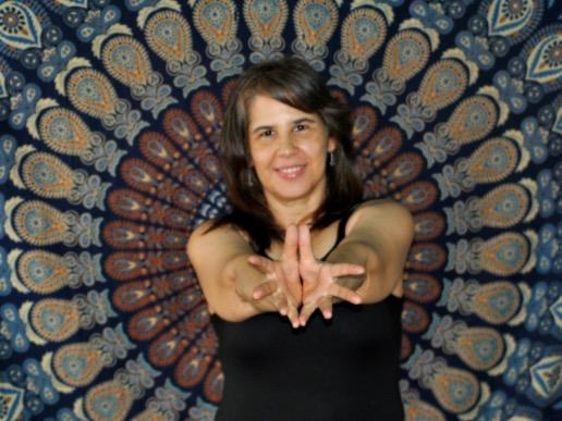 Maestra de yoga