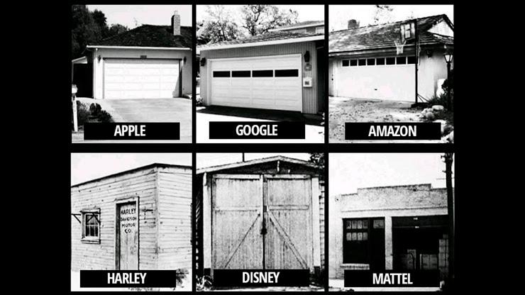 empresas que nacieron pequeñas o en garajes