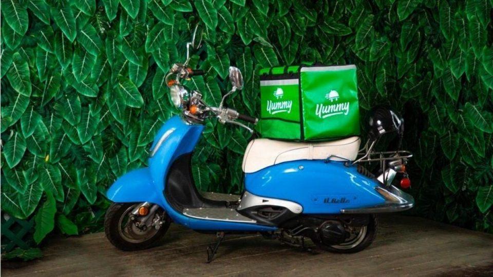 yummy moto del delivery venezolano