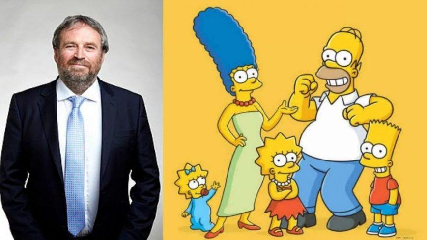 David Richardson, guionista de Los Simpson