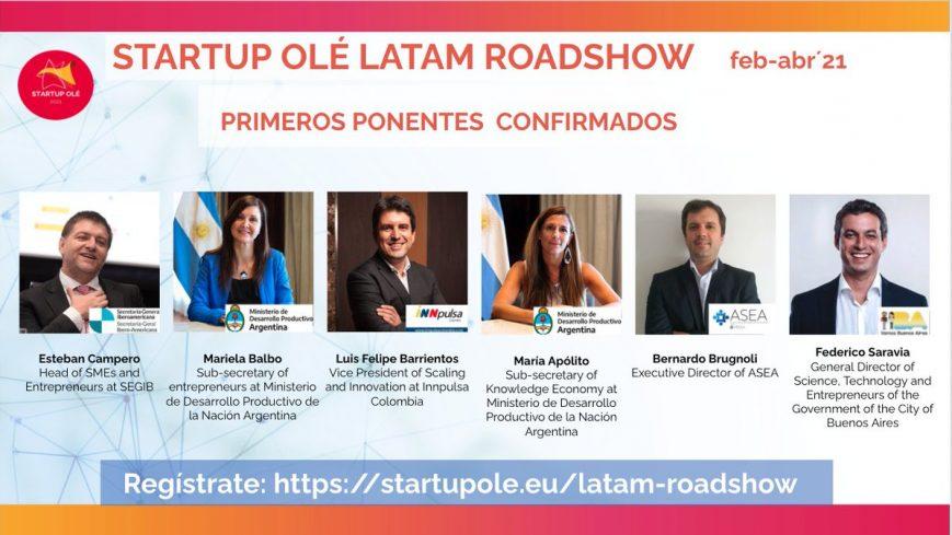 Startup Ole Latinoamérica, una oportunidad para los emprendedores de la región