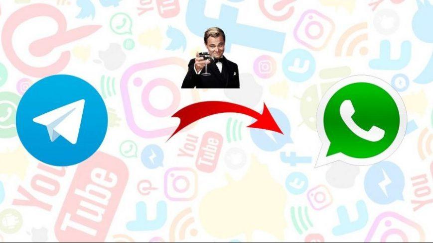 Stickers de WhatsAap en Telegram