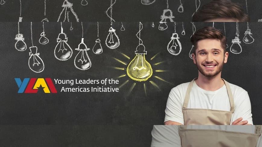 Programa de becas profesionales de la Iniciativa de Jóvenes Líderes de las Américas (YLAI) reúne a 260 emprendedores sociales y empresariales de América Latina, el Caribe y Canadá en una beca virtual.