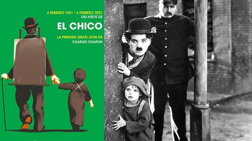 El Chico de Chaplin cumple 100 años de existencia