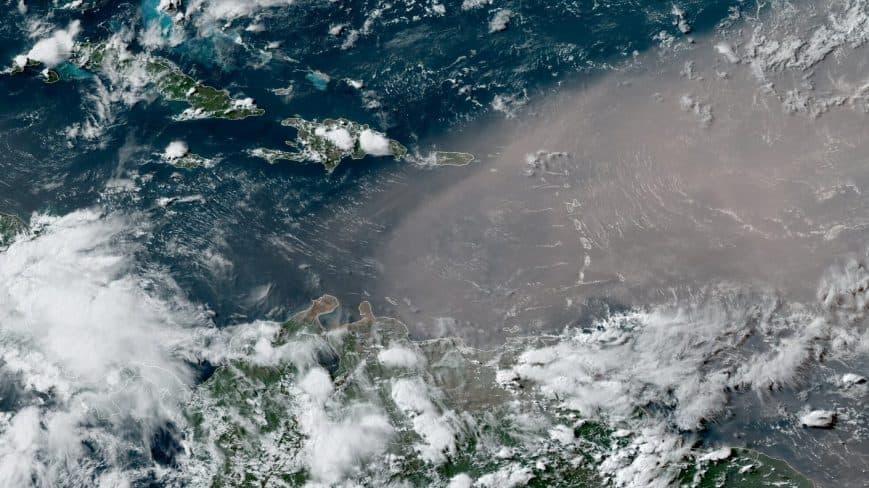 El polvo del Sahara llega a Venezuela