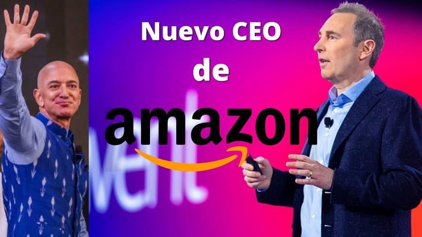 Nuevo CEO de amazon andy jassy