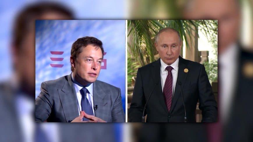 Putin y Elon Musk reunidos en ClubHouse