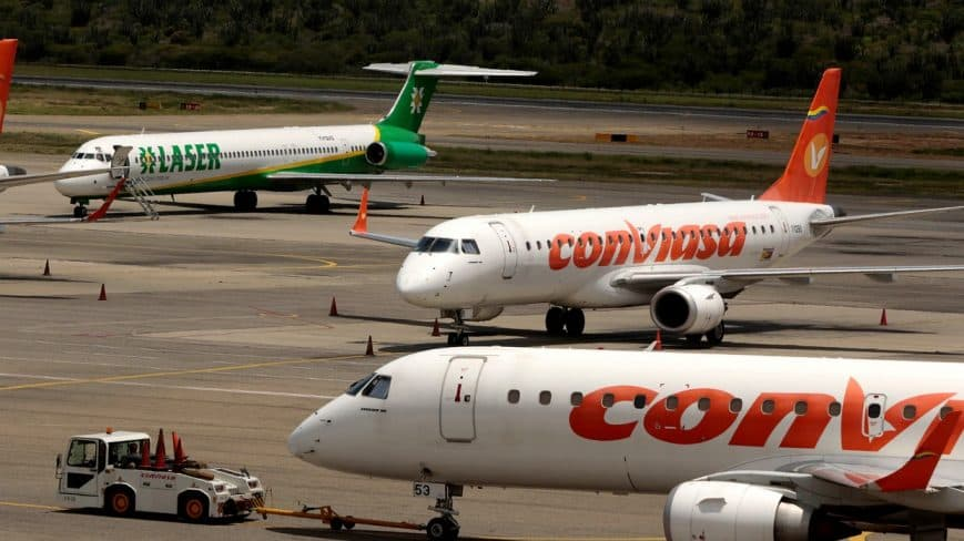 INAC anuncia nueva restricción de vuelos nacionales