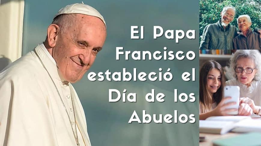 papa francisco dia abuelos