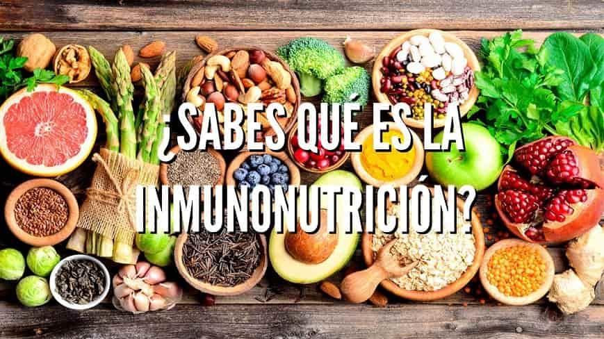 qué es la inmunonutrición