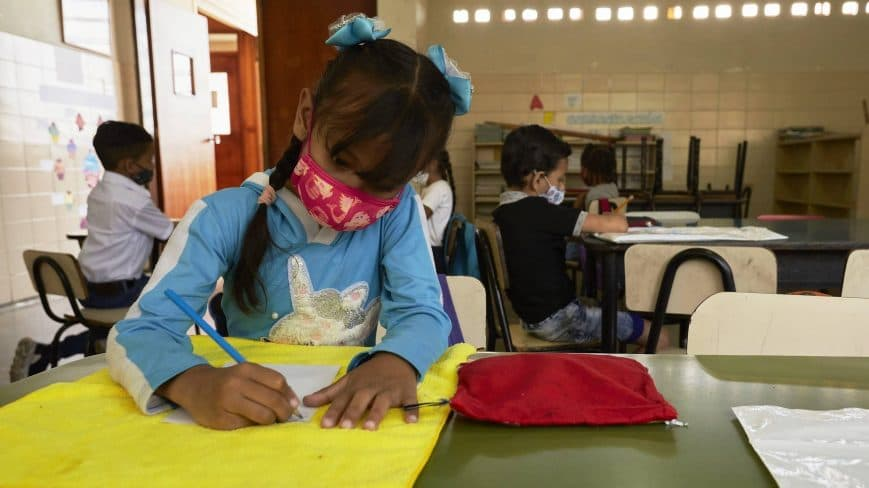 Vuelta a clases en Venezuela será en el mes de marzo