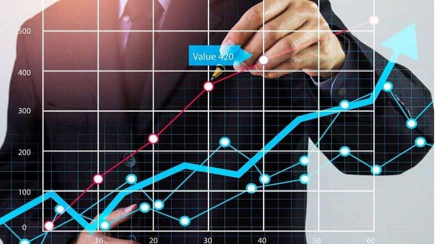 Gráfico de Bolsa de Valores