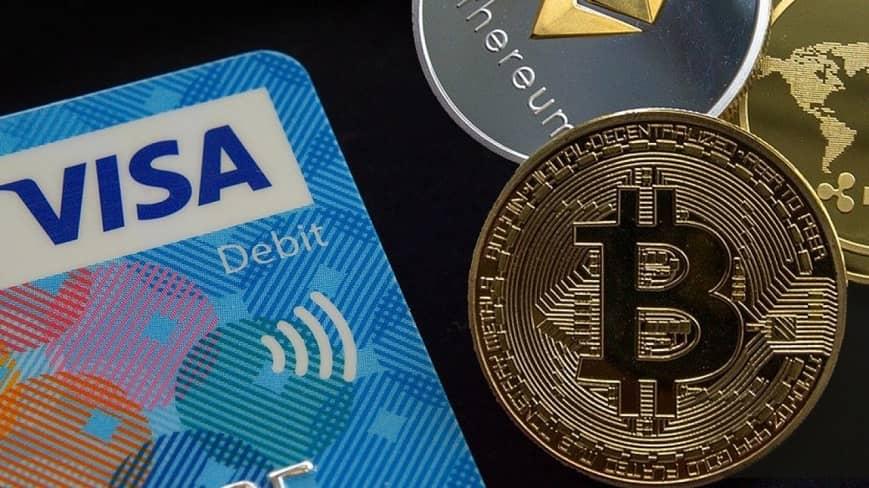 Visa se abre paso hacia las criptomonedas