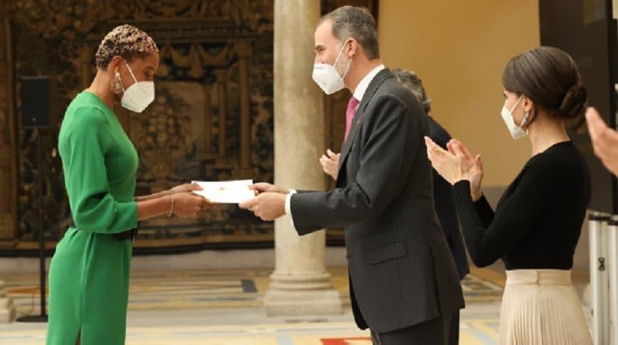 Yulimar Rojas recibió el Premio Comunidad Iberoamericana en España