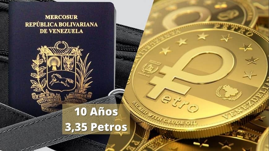 pasaporte-venezolano-valido-por-10-anos-costo-3,35-petros