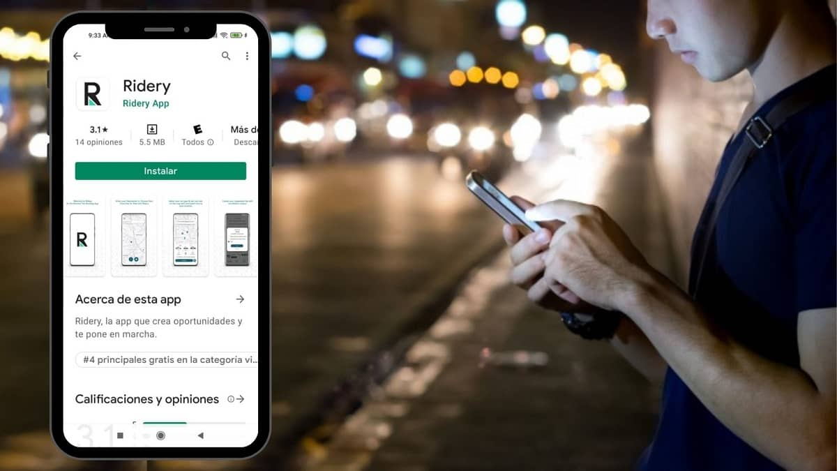Ridery se proyecta como la competencia de Uber