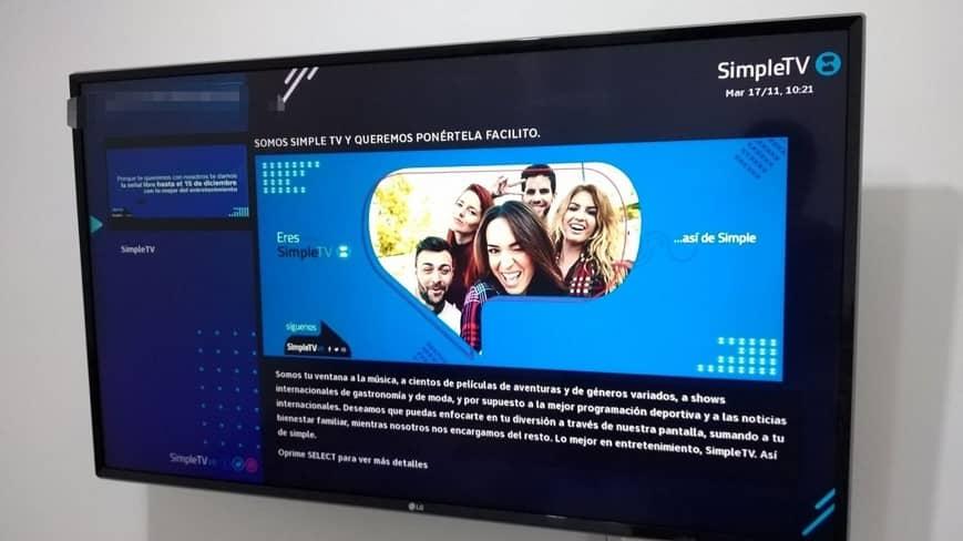 Simple TV innova con nuevos mecanismos de pago
