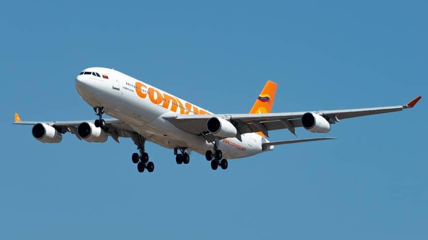 vuelo-caracas-moscu-A340-300-de-la-aerolinea-conviasa