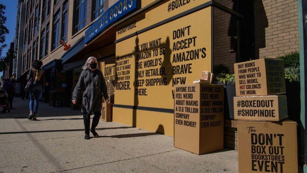 Librerías contra Amazon