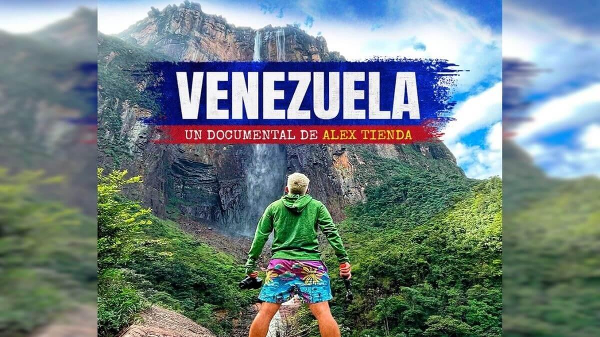 Youtuber Alex tienda muestra a Venezuela