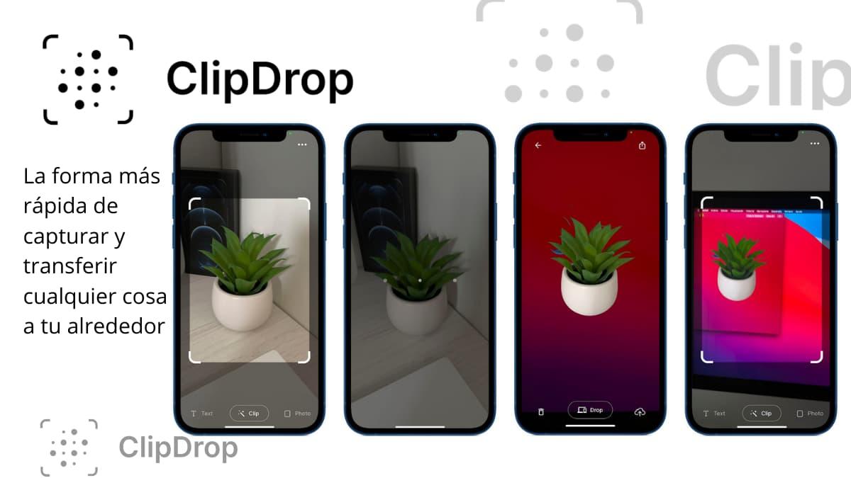ClipDrop fotografiar, cortar y pegar