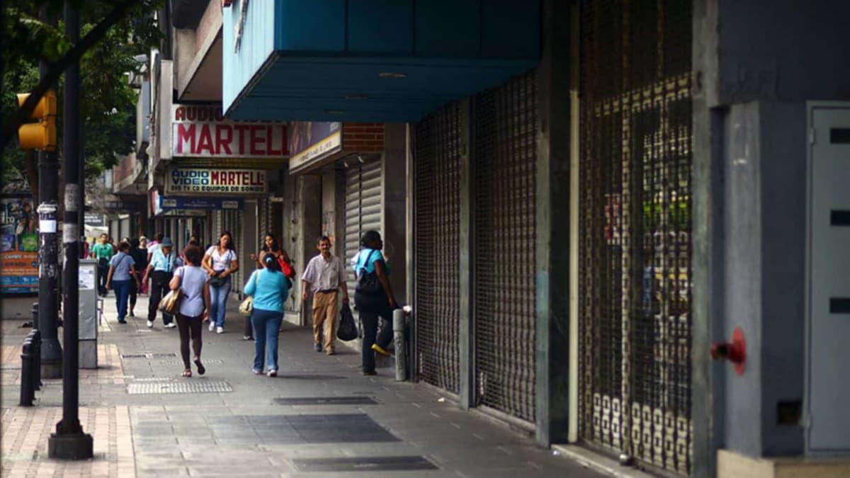 Establecimientos cerraron sus puertas por efecto de la pandemia