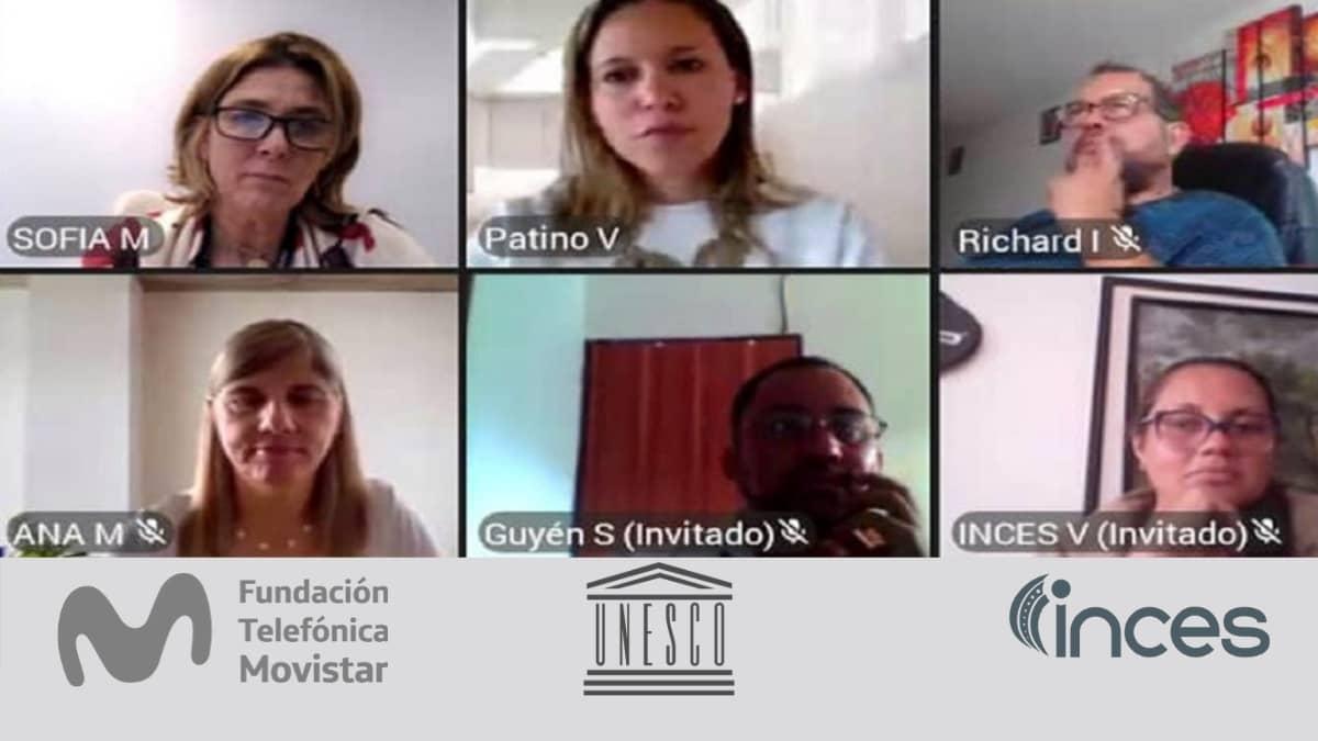 INCES, Unesco y Telefónica formaran a jóvenes venezolanos