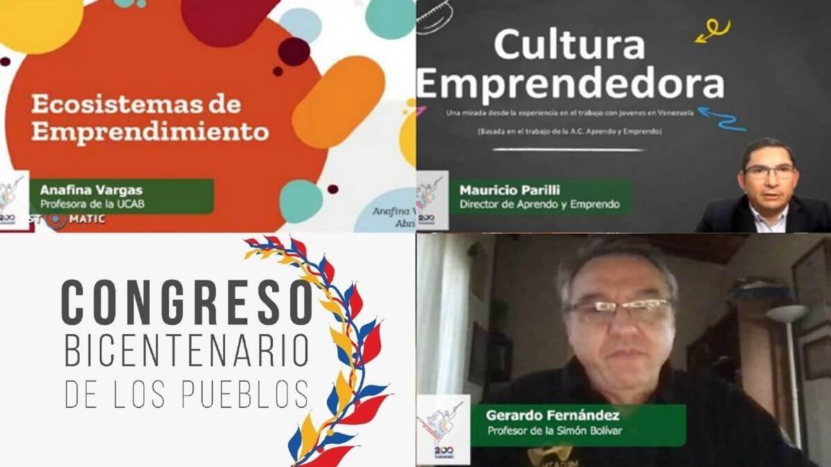 Emprendedores Congreso Bicentenario
