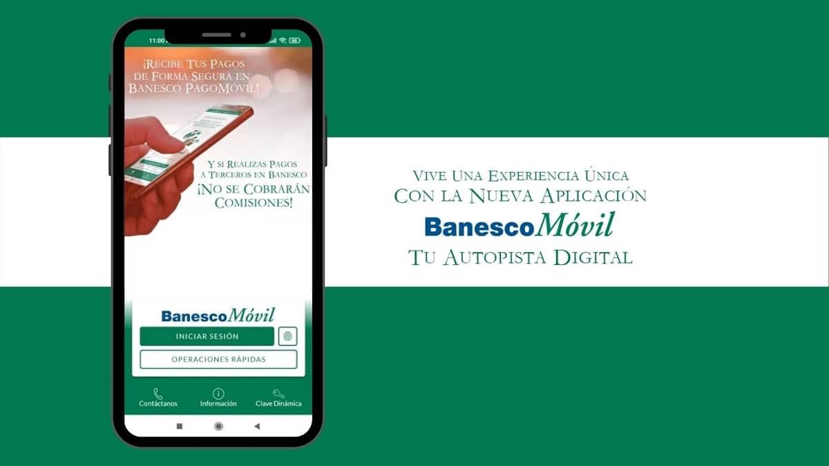 Banesco presenta nueva versión de BanescoMóvil