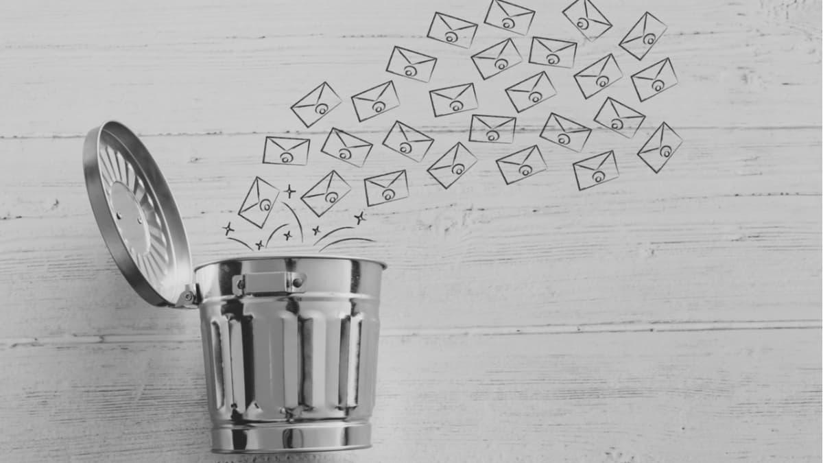 Borrar correos electrónicos para cuidar el planeta