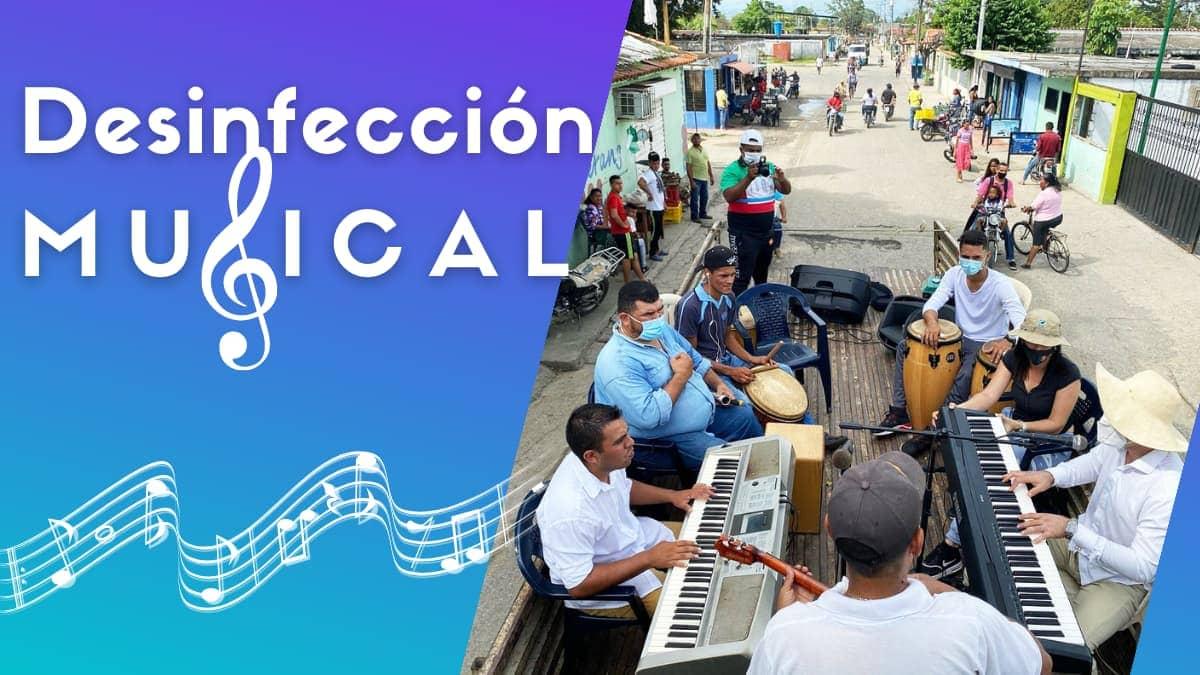 Con una terapia de música estos venezolanos luchan contra el Covid-19