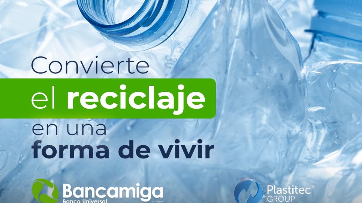Bancamiga y Plastitec Group protección del planeta