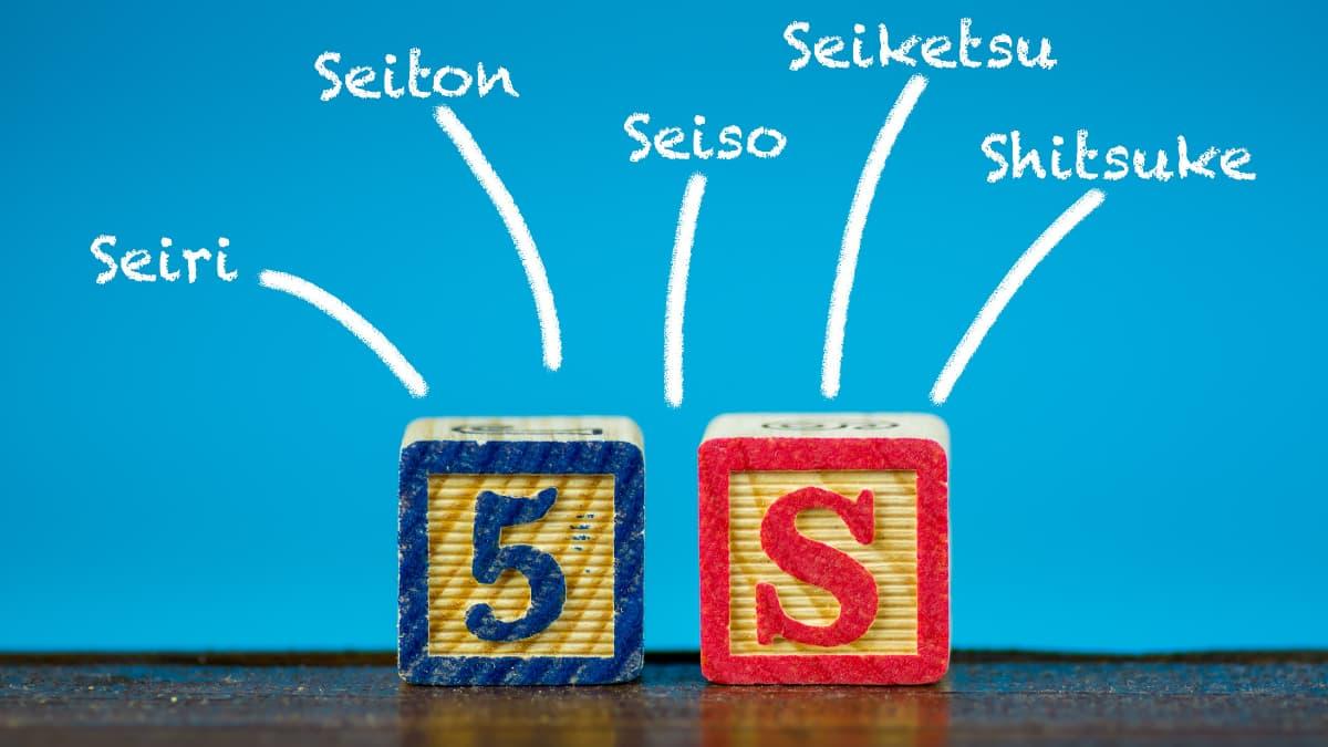 el método japonés de las 5 S