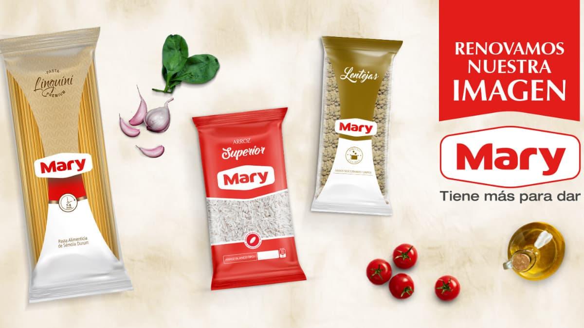 Alimentos Mary renueva su imagen