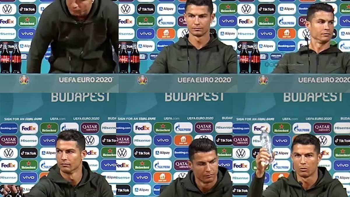 Cristiano Ronaldo causa un desplome inédito de Coca Cola