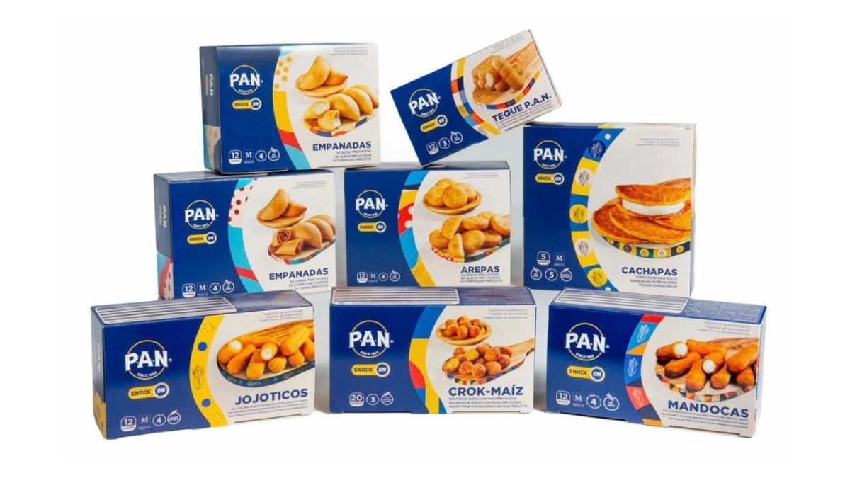 productos pan snack