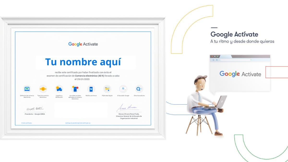 cursos gratis de google actívate inscríbete ya