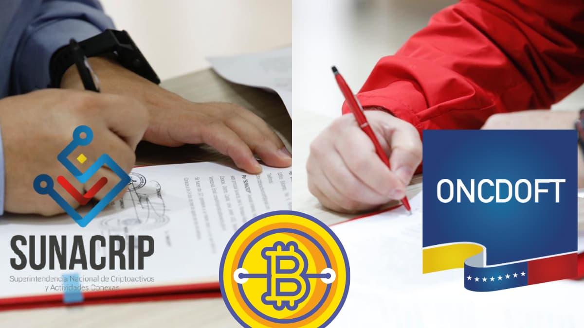 Se firmó acuerdo entre la SUNACRIP y la Oficina Nacional Contra la Delincuencia Organizada y Financiamiento al Terrorismo